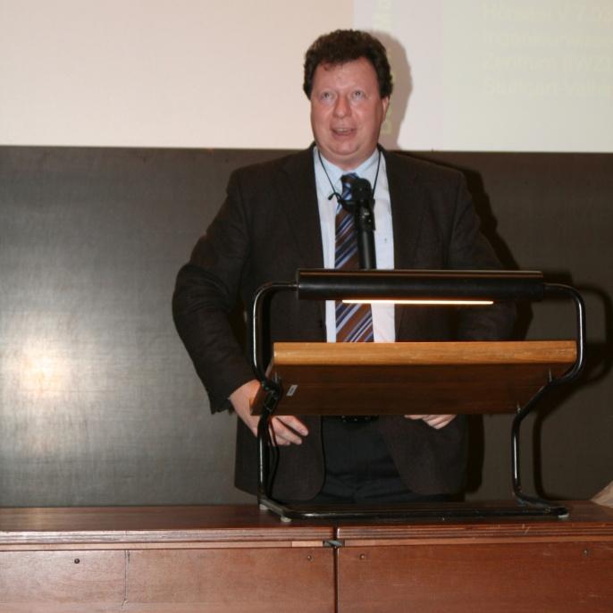 Abschiedsvorlesung von Professor E. Ramm, Dezember 2006