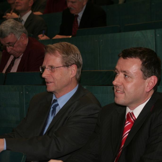 Antrittsvorlesung von Professor M. Bischoff, Februar 2007