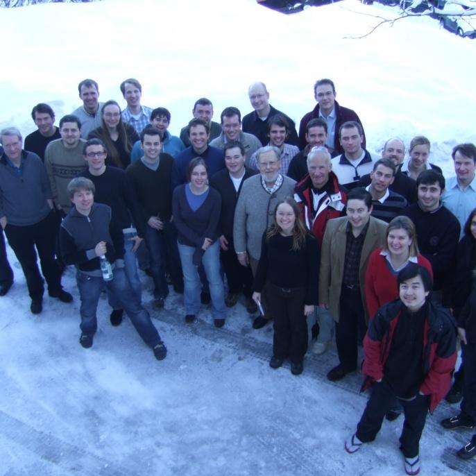 FE im Schnee, Februar 2008