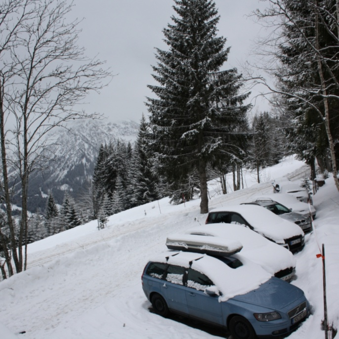FE im Schnee, März 2010