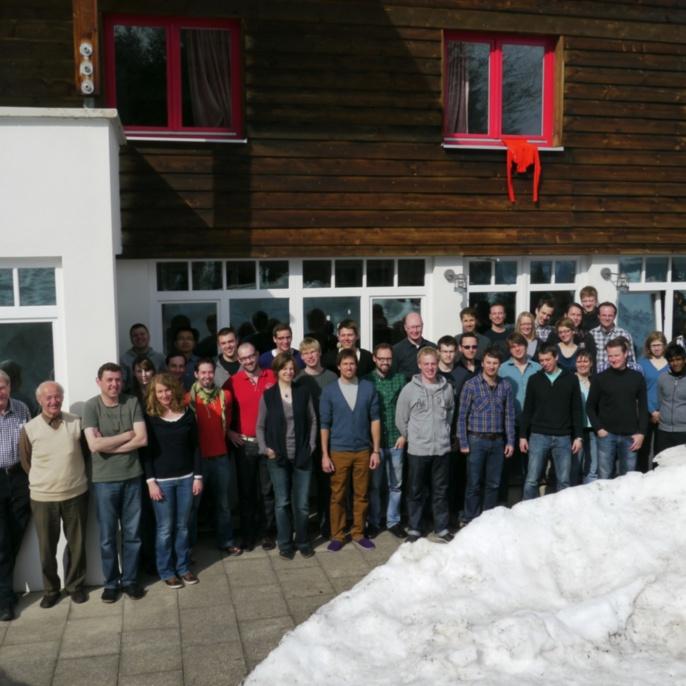 FE im Schnee, März 2012