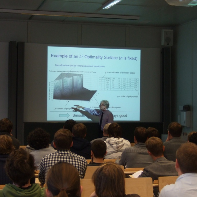 Seminar on Isogeometric Analysis, Oktober 2012