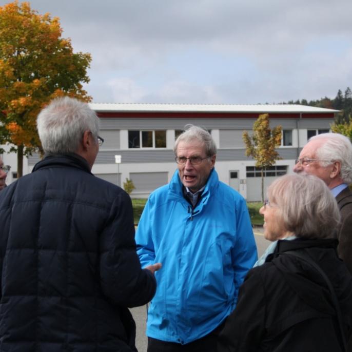 75. Geburtstag Prof. Ramm, Oktober 2015