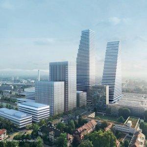 Büroturm F. Hoffmann - La Roche AG in Basel