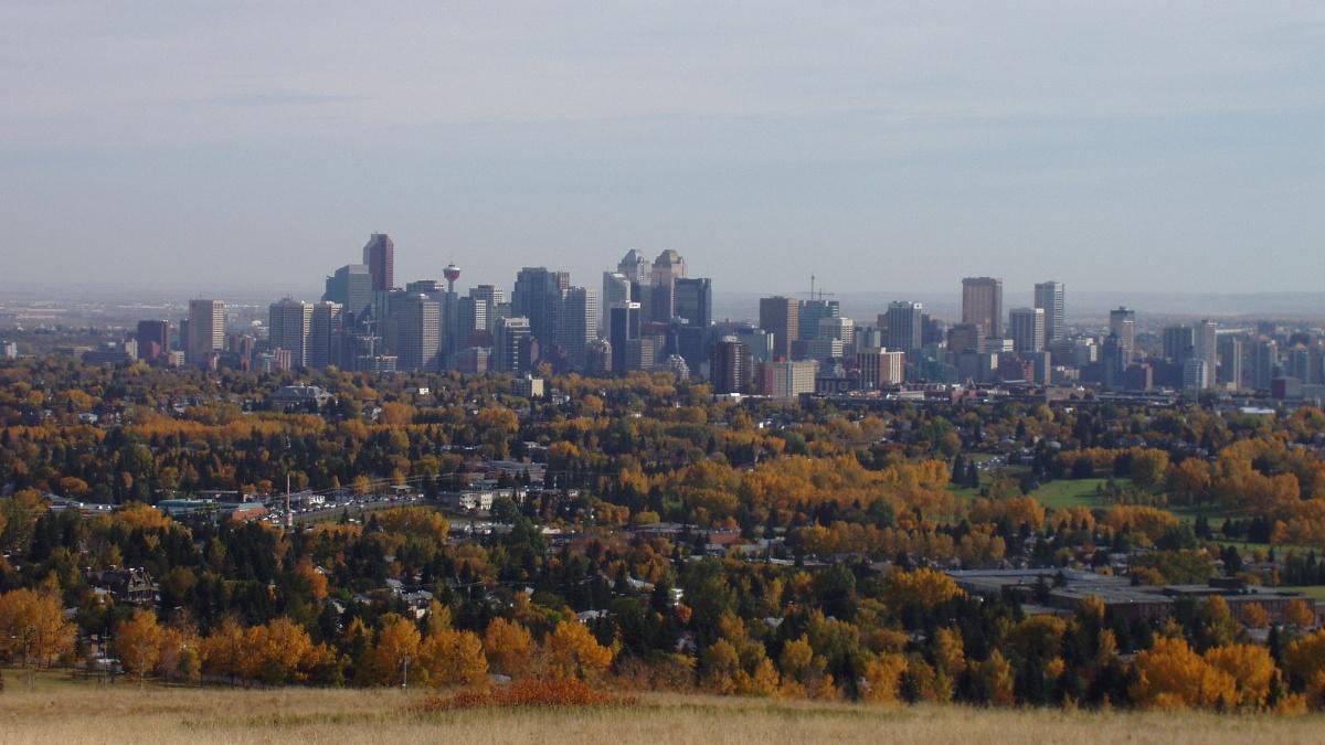 Calgary Blick auf die Stadt (c)